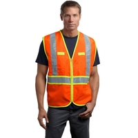 CornerStone - ANSI 107 Class 2 Dual-Color Safety Vest.