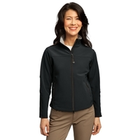 Port Authority Ladies Glacier Soft Shell Jacket.