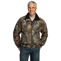 Port Authority Waterproof Mossy Oak Challenger Jacket.
