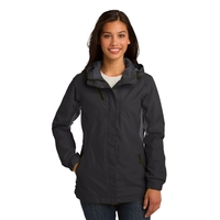 Port Authority Ladies Cascade Waterproof Jacket.