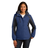 Port Authority Ladies Colorblock 3-in-1 Jacket.
