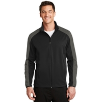 Port Authority Active Colorblock Soft Shell Jacket.
