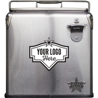 Frio Stainless Steel Retro Cooler