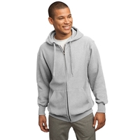 Sport-Tek Super Heavyweight Full-Zip Hooded Sweatshirt.