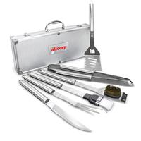 Deluxe 6 pc BBQ Tool Set