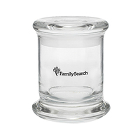 12.5 oz Glass Status Jar - Empty Jar
