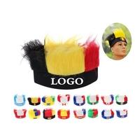 Football Soccer Fans Wig Head band Carnival Festival Caps