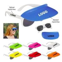 Visor Wrap Sunglasses car visor sunglass holder clip