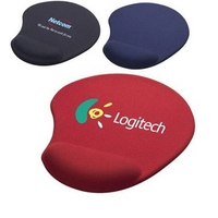 Gel wrist rest support mouse pad with gel mouse mat