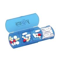 Custom-made Square plastic pill box with bandage dispenser
