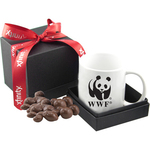 Gift Box with Mug & Chocolate Covered Peanuts