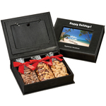 Picture Frame Keepsake Gift Box with Almonds, Cahsews, Nuts