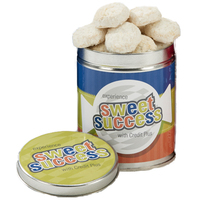 Quart Tin with Almond Tea Cookies