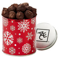 Quart Tin with Cocoa Dusted Chocolate Truffles