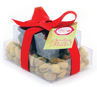 Double Stack Present Container - Almonds and Pistachios Nuts