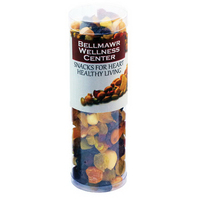 Healthy Snack Tube with Nuts and Dried Fruit
