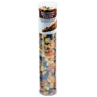 Large Healthy Snack Tube with Nuts, Seeds, Raisins