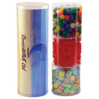 Three Tube Stack with Candy