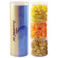Three Tube Stack with Popcorn