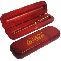 Rosewood Roller Pen in 1 Piece Rosewood Gift Box