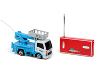 "1/64 Scale 3"" Bucket Truck Cherry Picker Remote Control Truc"