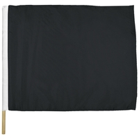 "24"" x 30"" Leave Track Nylon Auto Racing Flag"