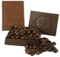 Molded Choc Box With Milk & Dark Chocolate Covered Almonds