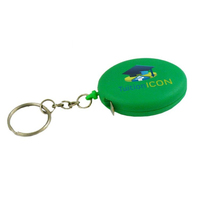 3' Oval Tape Measure W/Key Chain-Close Out Item