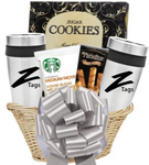 Coffee and Tumbler Gift Basket