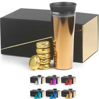 Metallic 20 oz double wall Diego tumbler Gift Set w/oreos