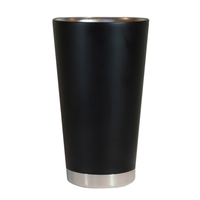 18oz Vacuum Insulated Double Wall Stainless Steel Pint Glass