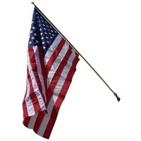 Home Set With 3' x 5' Embroidered Nylon Flag