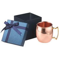 20 oz Classic solid copper Moscow Mule Gift Set