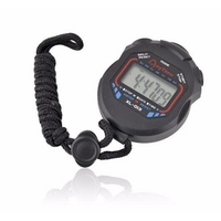 Digital LCD Chronograph Sports Stopwatch Timer Stop Watch