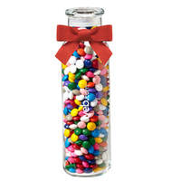 Glass Hydration Jar with Chocolate Buttons