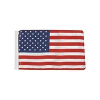 """4"""" x 6"""" U.S. Antenna Flags without Fringe"""