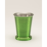 Mint Julep Cup - Satin Finish - Lime. 8 oz.