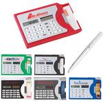 Calculator / Business Card Holder