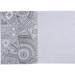 """5.5"""" x 8.5"""" Doodle Adult Coloring Notebo"""