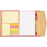 Magnetic Closure Sticky Note Booklet