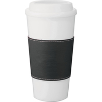16 oz Double Wall Plastic Tumbler with Wrap