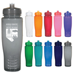 28oz. Poly-Clean Fitness Water Bottle