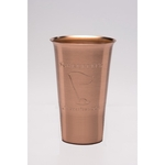 Solid Copper Beer Tumbler. 16oz.