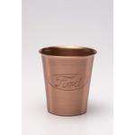 Solid Copper Juice Tumbler. 8oz.