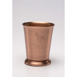 Solid Copper Mint Julep Cup. 8 oz.