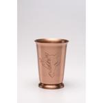 Solid Copper Mint Julep Cup. 12 oz.
