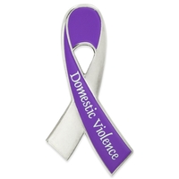 Awareness - Domestic Violence Awareness Ribbon Pin