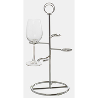 Delux Four Glass Tiered Flight Holder