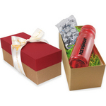 Gift Box with Bottle and Hershey Kisses