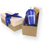 Gift Box with Tumbler and Gumballs